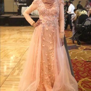 Dresses & Skirts - prom dress/evening gown w/overlay skirt! Orig.$600